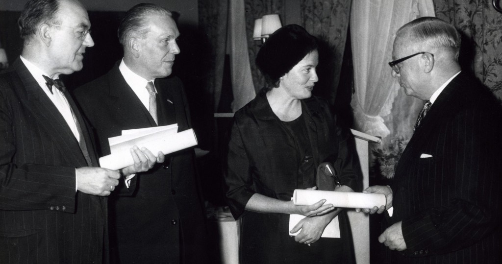 Hella S. Haasse in 1962