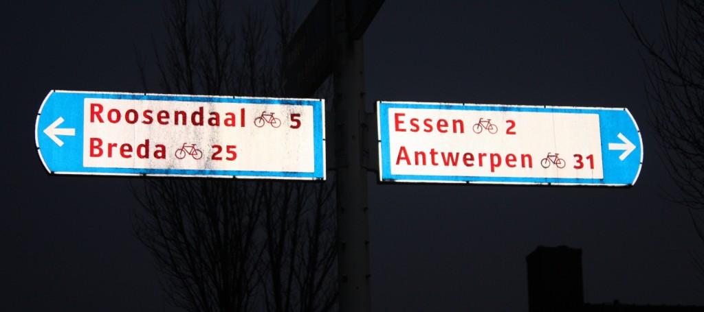 Op de grens tussen Nederland en Vlaanderen