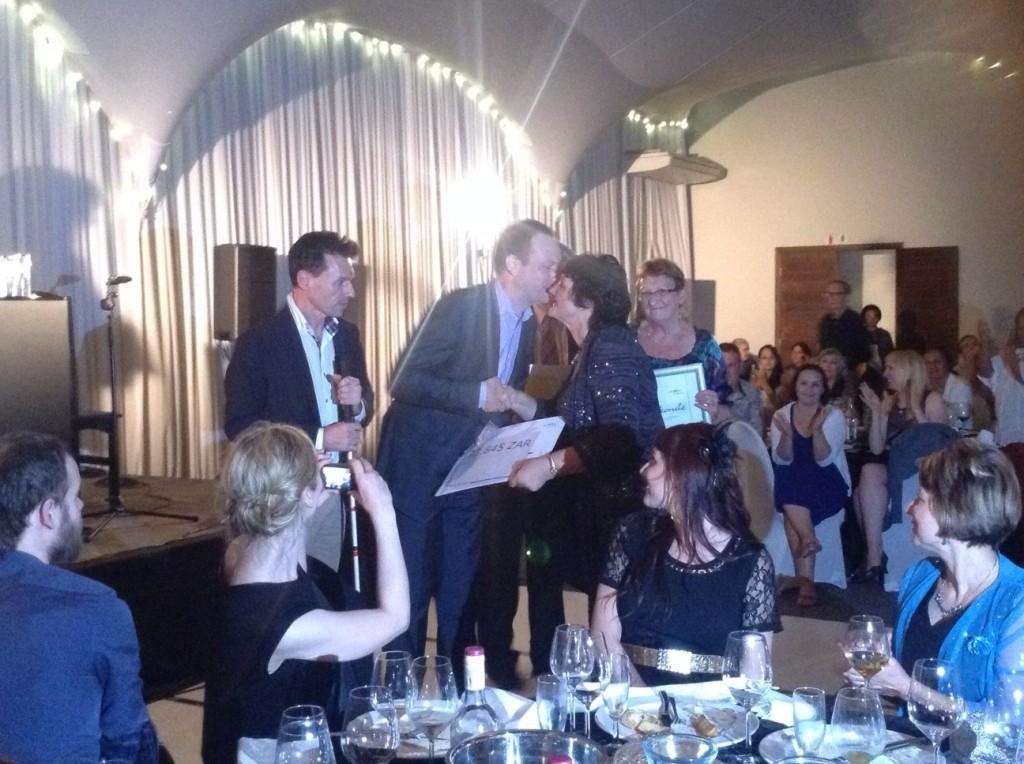 Uitreiking Visser-Neerlandiaprijs aan Dorothea van Zyl